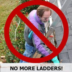 ACRI GutterBrush - No More Ladders